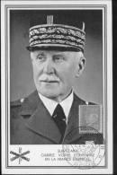 Maréchal Pétain - Maximum Cards
