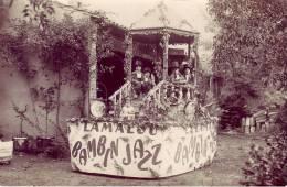 Rare Carte Photo Bambin Jazz  Lamalou(1928) - Lamalou Les Bains