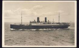 "SHIP BOAT  D. , "" SIERRA CORDOBA ""            Old Postcard - Paquebots"