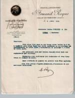 """Entête Du 06/04/1936 ARMAND ROQUE - Distillerie Confiserie - Spécialités """"TANTE MÏON"""" - Sarlat-en-Périgord - 1900 – 1949"""