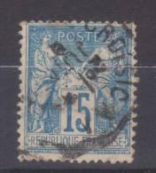 Lot N°19001   N°90, Oblit Cachet à Date A Déchiffrer - 1876-1898 Sage (Type II)