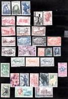 Lot De 32 Timbres Des Anciennes Colonies Françaises - Timbres