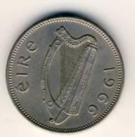 1966 Ireland 1 Shilling,  In Very Fine Condition BULL - Ireland