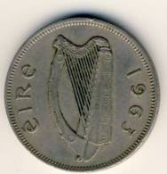 1963 Ireland 2 Shillings,  In Nice Condition TROUT - Ireland