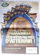 ASTERIX AFFICHETTE PUBLICITAIRE PARC SAISON 2012 - Werbeobjekte