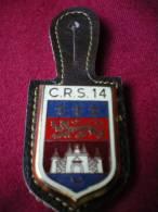 INSIGNE DE LA COMPAGNIE CRS 14 ( Cenon - Bordeaux). - Polizei