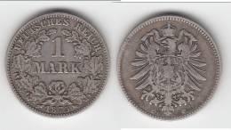 ALLEMAGNE - GERMANY **** 1 MARK 1875 C - EMPIRE - ARGENT - SILVER **** EN ACHAT IMMEDIAT - [ 2] 1871-1918: Deutsches Kaiserreich