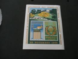 UB76-  Bloc  MNh Khor Fakkan -Sharjah- Nat .cementary Anniv Kennedy - Kennedy (John F.)