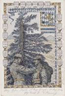 Regimentskarte: Köngl. Bayrische Brigade -Ersatz - Bataillon Nr.7  - Vogesen - Westfront 1914/15 Mandray,Saales,Lubine - Guerre 1914-18