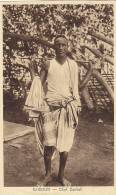 Afrique - Djibouti - Chef Dankali - Gibuti