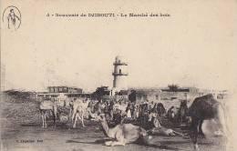 Afrique - Djibouti - Marché Bois - Tour - Editeur Vorperian - Gibuti