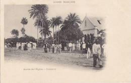 Afrique - Guinée - Conakry - Sortie De Messe - Guinea Francesa