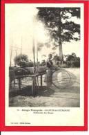 466n CONGO FRANCAIS - St Louis De L'Oubanghi - Fabrication De Nasses - Französisch-Kongo - Sonstige