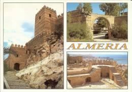 España--Almeria--Castillo Y Ruinas--Conjunto Arqueologico De La Alcazaba - Castillos