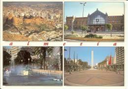 España--Almeria--Castillo Y Vistas De La Ciudad - Castillos