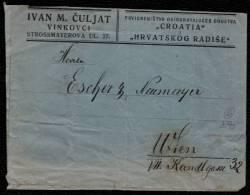 VERS 1926 - LETTRE SOUS * ETAT DES SLOVENES, CROATES Et SERBES * DE VINKOVCI > WARSOVIE - 2 Scans ! - Slovénie