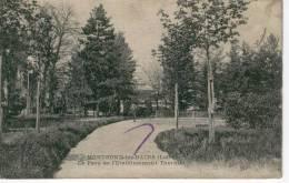 MONTROND LES BAINS,Le Parc De L'Etablissement Thermal - Bon état - Francia