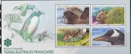 T.A.A.F, Yv Blok Jaar 2012, Fauna, Postfris (MNH) Zie Scan - Blocs-feuillets
