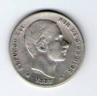 ALFONSO XII 1882  20 CTVOS.  MANILA   L339 - [ 1] …-1931 : Reino