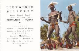 FORT-LAMY ( République Tchad ) CALENDRIER BILLERET De 1962 Avenue Edourd Renard Boite Postale 463 - Chad