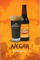 Lote PEP290,  Colombia, 3 Cordilleras, Cerveza Negra, Postal, Postcard, Beer Propaganda Card, Tarjeta De Propaganda - Colombia