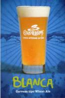 Lote PEP293,  Colombia, 3 Cordilleras, Cerveza Blanca, Postal, Postcard, Beer Propaganda Card, Tarjeta De Propaganda - Colombia