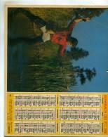 Calendrier  G-F  De Paris Et La Banlieue  92  93  94 De 1981 - Big : 1971-80