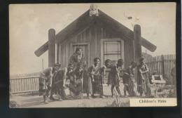 New Zealand: Children's Haka.Traditional Ethnic Dance & Costume Ca.1910 Oc666 - Neuseeland