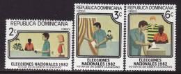 Dominican Republic #855-57 F-VF, Mint NH ** - Dominican Republic