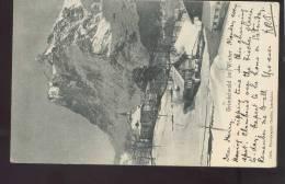 BE Bern: Grindelwald Im Winter Photographie Gabler 1904 Gel.  Sw217 - BE Bern