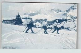 Winter Sports: Ski 1910s Sw953 - Wintersport