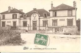 BOIS-LE-ROI (77) La Mairie Et Les Ecoles En 1910 - Bois Le Roi