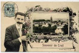 60 - CREIL - Souvenir De Creil - Creil