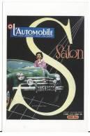 Format  CPSM Affiche   Salon De L'automobile  1953 - Cartes Postales