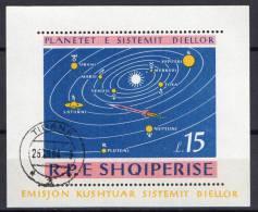 Albania 1964 Space S/s CTO -scarce- - Space