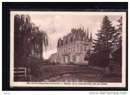 44 HAUTE   GOULAINE     Chateau De La Chataigneraie Pris De L Etang - Haute-Goulaine