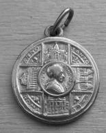 Med-1746Médaille Religieuse Ancienne Pie XII Roma 1950 - Godsdienst & Esoterisme