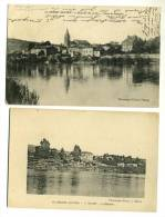 2 CPA - MILLERY (54) Le Bâtiment / Route De Marbache - Ohne Zuordnung