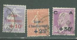 France   249/251  Ob   TB - Oblitérés