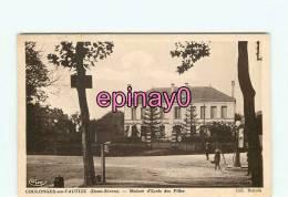 Br - 79 - COULONGES SUR L´AUTIZE - Maison D'école Des Filles - édit. Bonnin - - Coulonges-sur-l'Autize
