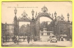 LYON: Porte Monumentale Du Parc De La Tête D'or. - Lyon