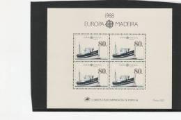 Madeira MNH S/S Europa Ship - Boten