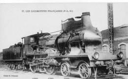 Les Locomotives Françaises.PLM.Etat TTB.Cliché Fohanno. - Trains