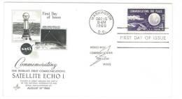 STATI UNITI - USA -  SATELLITE ECHO I  - WASHINGTON - YEAR 1960 - Estados Unidos