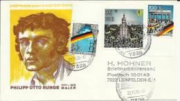 ALEMANIA CC CAIDA MURO BERLIN SELLOS RFA Y DDR MAT ILUSTRADO - History