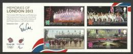 Groot-Brittannie 2012 Memories Of London BF *** - Blocks & Miniature Sheets