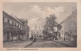 HAMERSLEBEN  -GERMANIA- NEUWEGERSLEBENERSTRABE  BELLA FOTO D´EPOCA ORIGINALE 100% - Germania