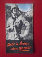 Depliant  Propagande Ww 2 Legioen En De Waffen Nederlans 16 Pages Tres Rare - 1939-45