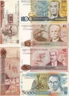 Billets De Banque/ Brésil/ Vrac/Cruzados/6 Billets /                               BIL85 - Coins & Banknotes