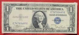 (1043902) United States Of America. One Dollar. Series 1935 C. Original. Banknote. Geldschein - Silver Certificates (1928-1957)